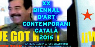 XX Biennal d'Art Contemporani Català 2016
